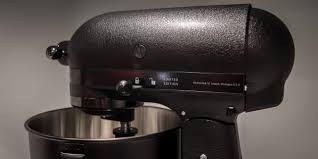 kitchenaid black tie mixer kitchenaid has a new all black stand mixer because 2017 demands it