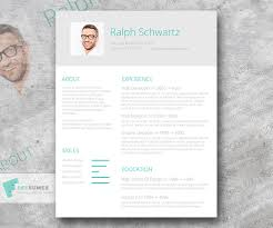 resume template for 50 eye catching cv templates for ms word free to