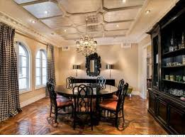 Dining Room Ceiling Dining Room Coffered Ceiling Home Design And Pictures