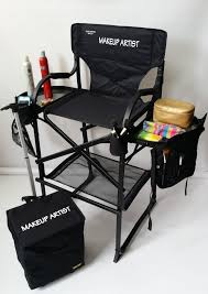 makeup chairs for professional makeup artists popular black premium makeup chair with personalisation