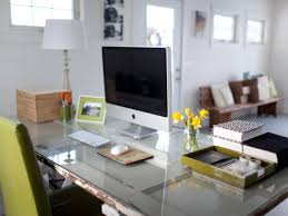 Quick Tips For Home Office Organization HGTV - Home office in living room design