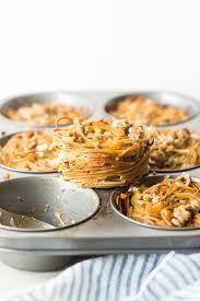 thanksgiving pasta nests mj and hungryman tx