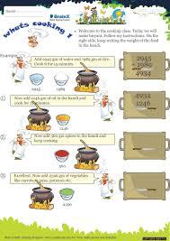 whats cooking 1 math worksheet for grade 3 free u0026 printable