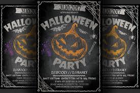 halloween party flyers templates halloween design inspiration junoteam