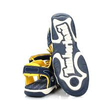 adventure kids sandals navy yellow 1251 3258