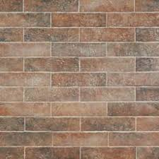 brick look tile floor decor