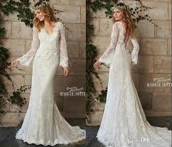 vintage style wedding dress discount a line bohemian style wedding dresses vintage lace