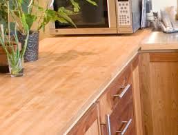 comptoir cuisine bois poser un comptoir de cuisine écologique sain durable et local