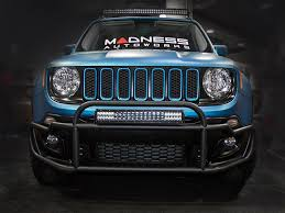 Led Lights For Jeeps Jeep Renegade Front Bumper Bar W Led Lights By Madness