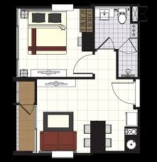 1 Bedroom Condo Floor Plans by Floor Plan Type A The Gallery Condominium