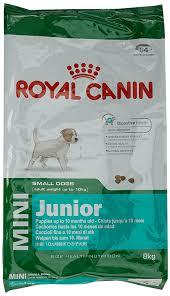 royal canin mini junior dry dog food 4 kg amazon co uk pet