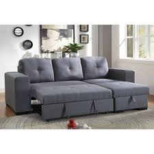 Pullout Bed Sleeper Sectional Sofas You U0027ll Love Wayfair