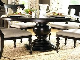 round dining table with leaf seats 8 round black dining table with leaf zagons co