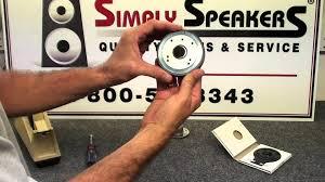 speaker repair jbl 2412 2412h eon tr jrx replacement