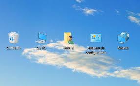 installer sur le bureau windows 10 comment mettre les icônes sur le bureau