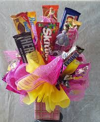 Candy Basket Princess Candy Bouquet In Downey Ca Downey Chapel Florist
