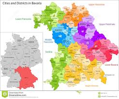 Germany Political Map by State Of Germany Bavaria Stock Photos Image 32718773