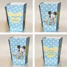 mickey mouse favor bags favor boxes bags diy party supply artfire shop