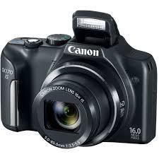 Canon Rugged Camera Amazon Com Canon Powershot Sx170 Is 16 0 Mp Digital Camera