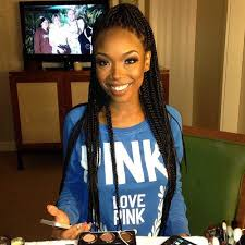 hair to use for box braids is brandy going back to braids singer posts photos rocking box