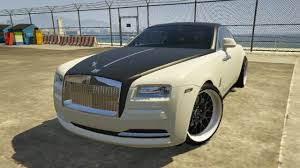 rolls royce wraith modified gta 5 rolls royce wraith youtube