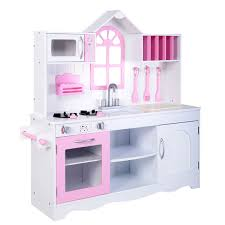 Toy Hutch Wood Toy Kitchen Kids Cooking Pretend Play Set Toy Kitchens