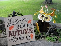 Home Decor Wood Signs Fall Sign Fall Decor Leaves Are Falling Autumn Is Calling Wood