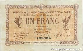 chambre de commerce albi 1 franc regionalism and miscellaneous albi castres
