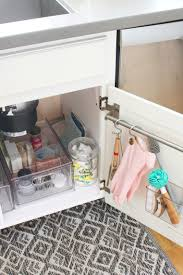 kitchen sink cabinet storage ideas kitchen sink organizers and organizing ideas clean