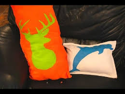 Upcycled Pillows - diy upcycled t shirt pillows sizzix teen craft youtube