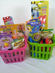 easter basket boy sugarless and easter basket ideas for toddlers and babies