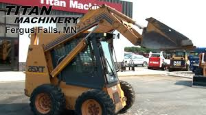 case 85xt compact skid loader sold on els youtube