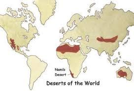 africa map kalahari desert namib desert facts we live in africa