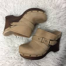 ugg boots sale cloggs 77 ugg shoes ugg light camel wooden cloggs buckled and