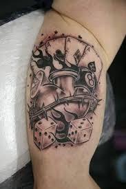 25 best dice tattoo designs images on pinterest for men google