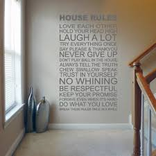 House Rules Design Com by House Rules Wall Decal Sticker Quote Lounge Living Room Bedroom