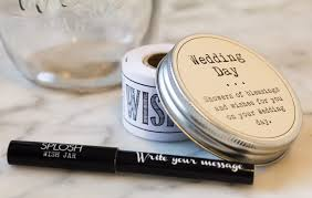 wedding wishes jar wish jar wedding day funky gifts nz