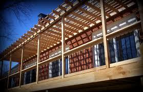 st louis deck design free standing pergola gazebo or over patio in