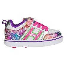 rainbow light up shoes heelys x2 bolt plus white silver rainbow two wheel heelys rawk co uk