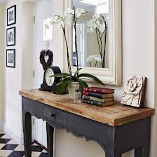 Hallway Console Table And Mirror Collection In Hallway Console Table And Mirror With Best 25