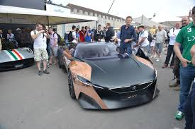 peugeot onyx peugeot onyx concept at goodwood 2013 video live photos