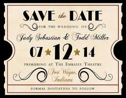 46 best hollywood wedding save the dates images on pinterest