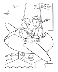airplane coloring pages free 2014 kids girls coloring point