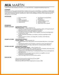 Example Executive Assistant Resume by 12 Administrative Assistant Resume Summary Technician Resume