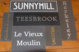 engraved plaques like corian house signs the sign maker