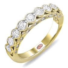 yellow gold diamond rings demarco bridal jewelry official designer engagement rings