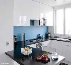 credence cuisine blanche crédence cuisine déco bleu dans cuisine blanche