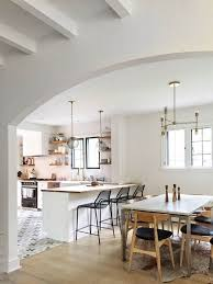 kitchen and dining designs kitchen open to dining room houzz