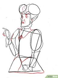 how to draw lady tremaine from cinderella 8 steps with pictures
