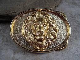 urban lion ring holder images Handmade golden brass steampunk lion belt buckle urban metal designs jpeg